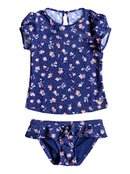 My Sweet Flower - Cap Sleeve Rash Vest for Girls - Roxy