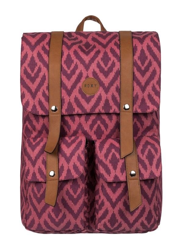 0 She Said Canvas Backpack  2153041701 Roxy