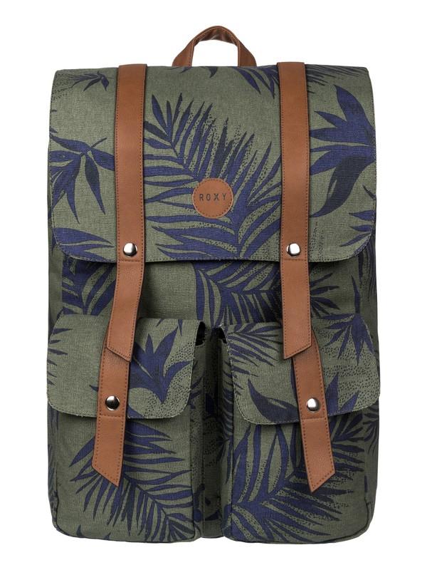 0 She Said Canvas Backpack  2153041702 Roxy
