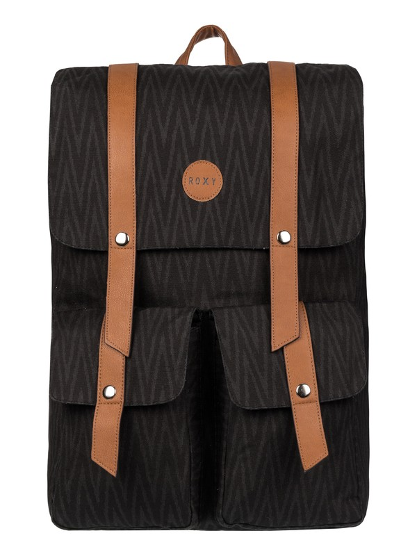 0 She Said Canvas Backpack  2153041703 Roxy