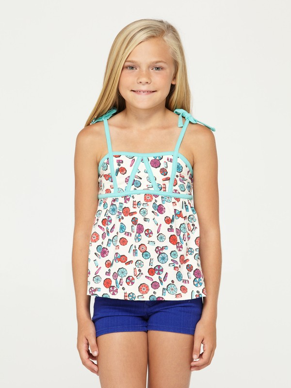 0 Girls 2-6 June Gloom Tank Top  427105 Roxy
