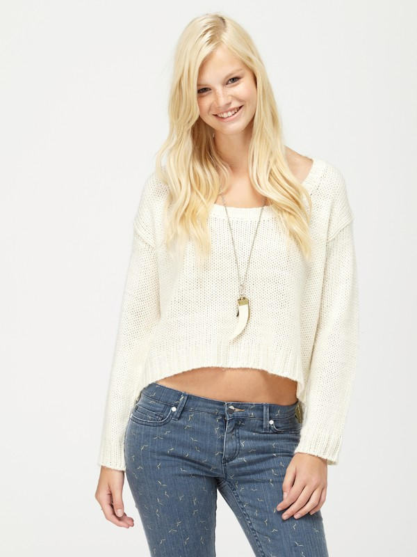 0 Elm Sweater  467518 Roxy