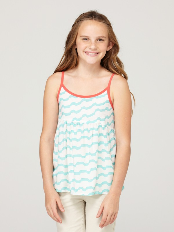 0 Girls 7-14 Rain Drop Tank Top  482467 Roxy