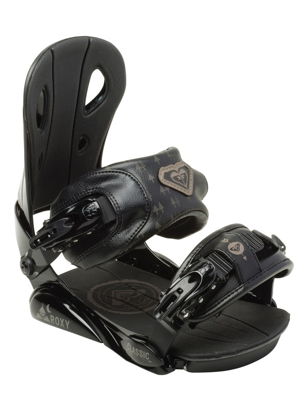 0 Classic Snowboard Bindings  5235025 Roxy