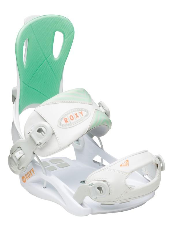 "0 Rock-It Dash ""Small/Medium"" Snowboard Bindings  5235305 Roxy"