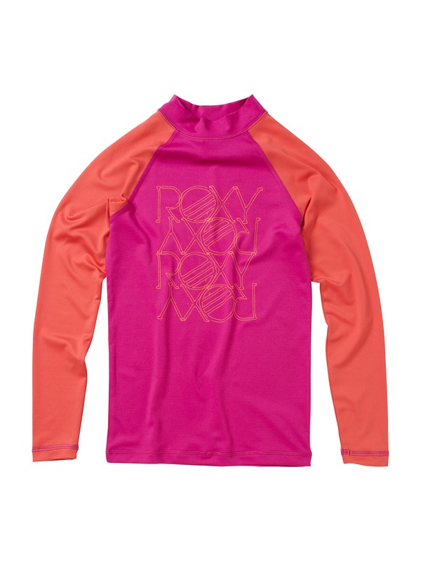 0 Girls 7-14 High Light LS Rashguard  AQGWR00006 Roxy
