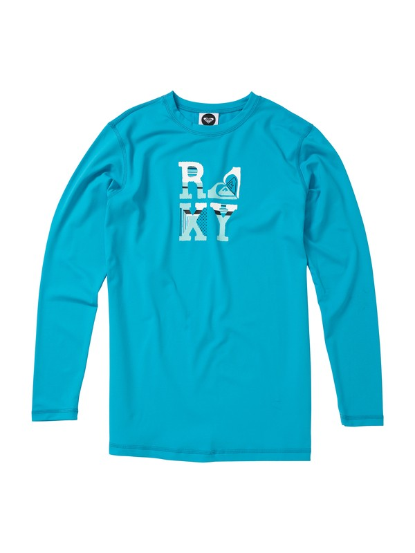 0 Girls 7-14 Betsy LS Rashguard  AQGWR00011 Roxy