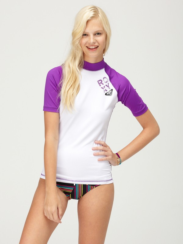 0 Paddle Out SS Rashguard  AQJWR00003 Roxy