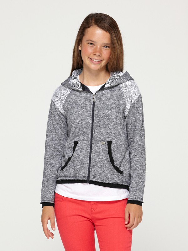 0 Girls 7-14 Flower Shop Hoodie  ARGFT00053 Roxy