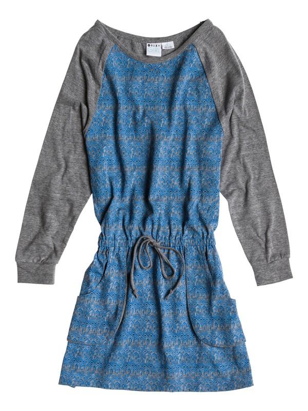 0 Girls 7-14 Pass Time Dress  ARGKD03014 Roxy