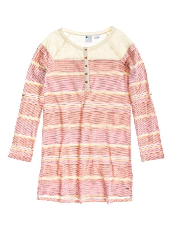 0 Coastal - Striped Tee Dress  ARGKD03025 Roxy