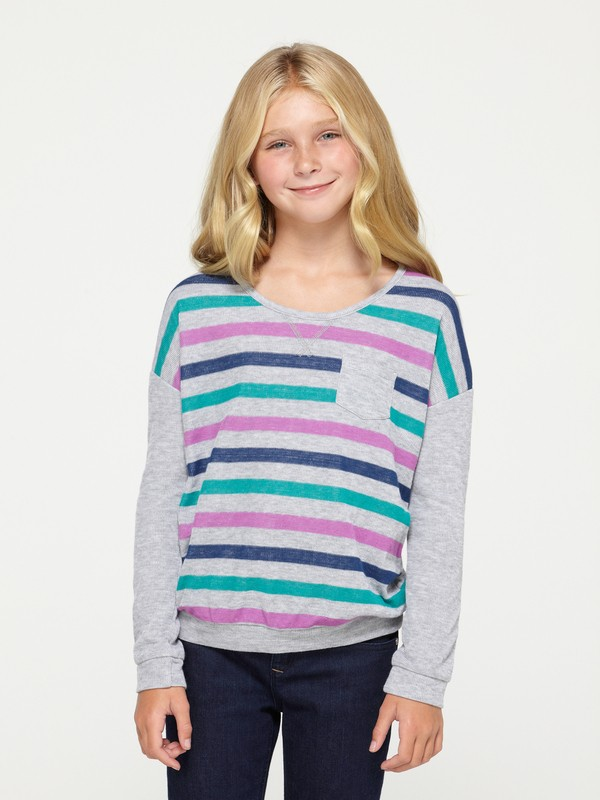 0 Girls 7-14 Revival Sweatshirt  ARGKT00054 Roxy