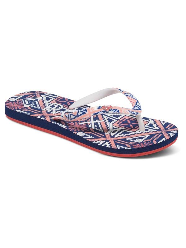 0 Girls 7-14 Pebbles Flip Flops  ARGL100031 Roxy