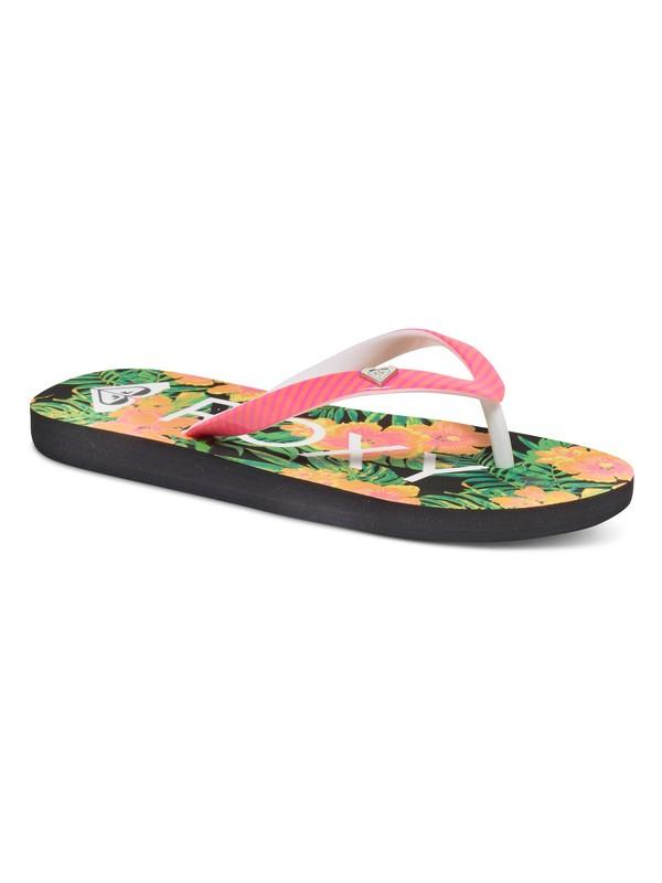 0 Girls 7-14 Pebbles Flip Flops Multicolor ARGL100031 Roxy