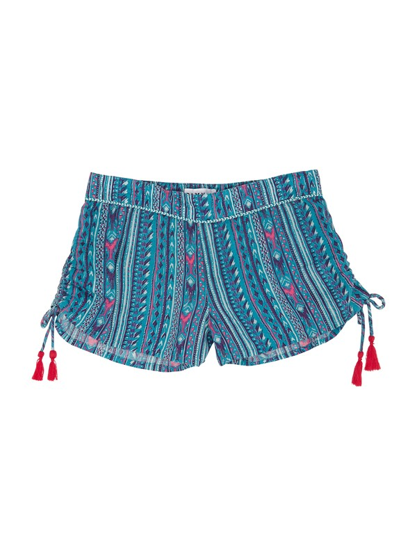 0 Girls 7-14 Salty Swim Shorts  ARGNS00017 Roxy