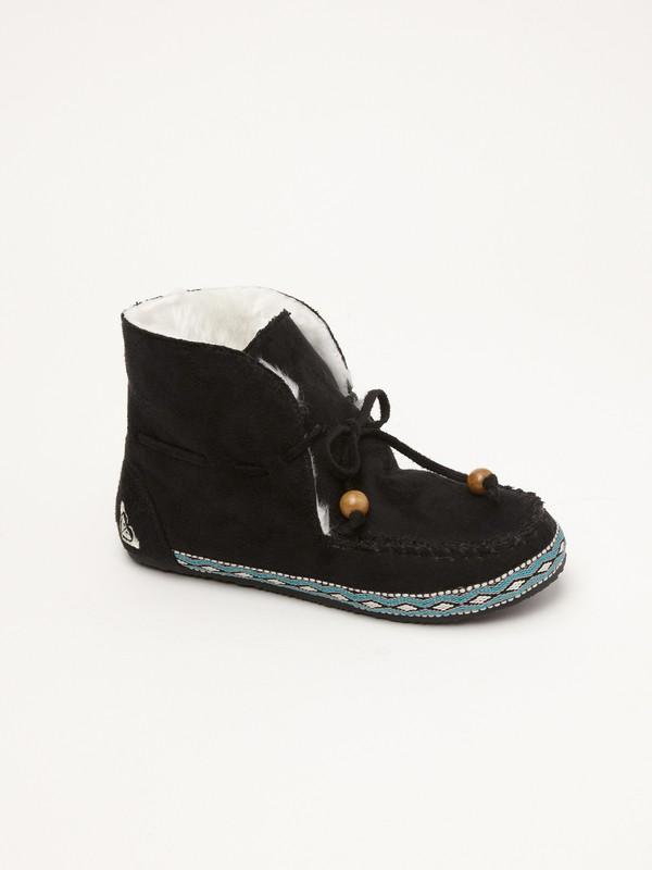 0 Girls 7-14 Chestnut Slippers  ARGP100005 Roxy