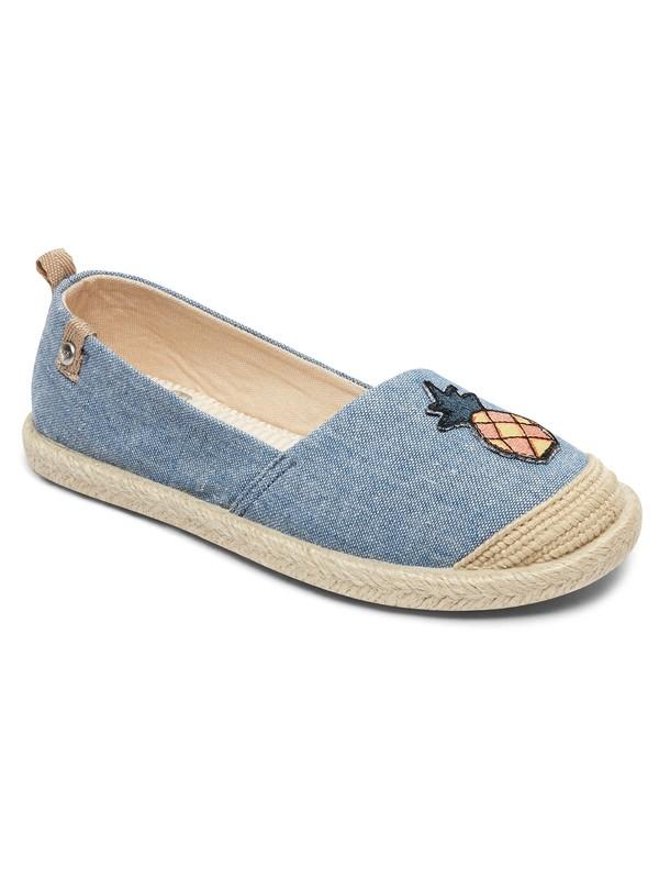 0 Flora - Slip-On Shoes Blue ARGS600087 Roxy