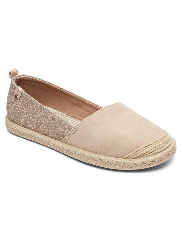 0 Flora - Slip-On Schuhe Orange ARGS600087 Roxy