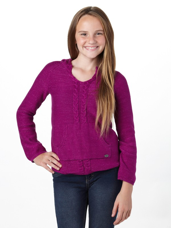 0 Girls 7-14 One Dream Sweater  ARGSW00009 Roxy