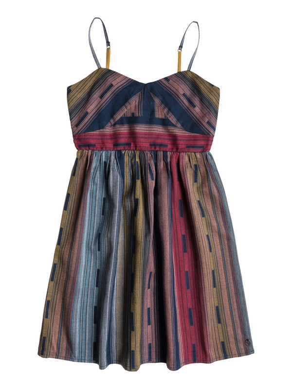 0 Girls 7-14 Tail Feathers Dress  ARGWD03002 Roxy