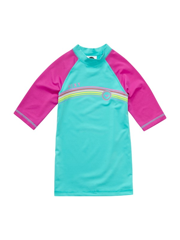 0 Girls 7- 14 From Above SS Girl Rashguard  ARGWR00013 Roxy