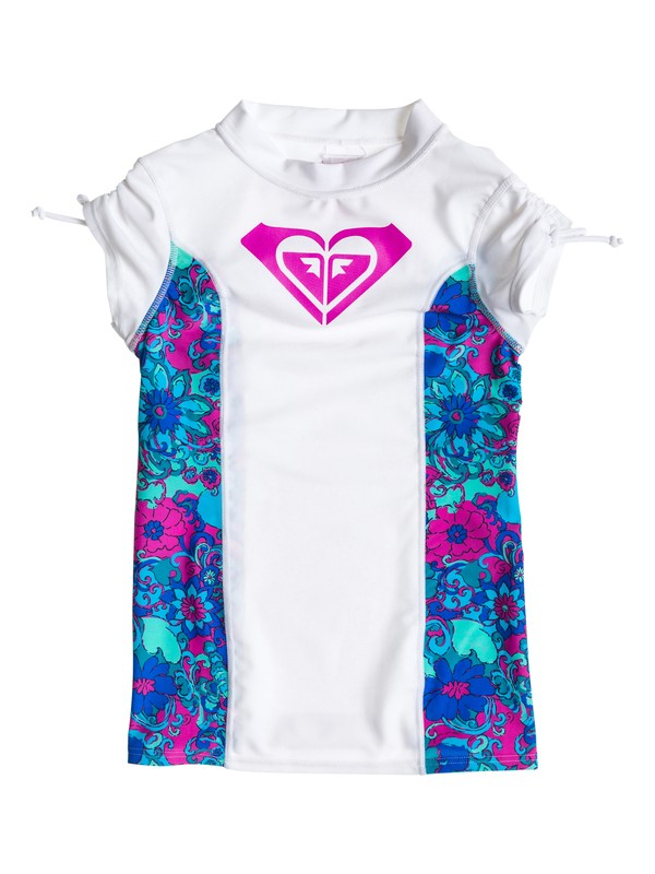 0 Girls 7-14 Beach Bound Rashguard  ARGWR03001 Roxy