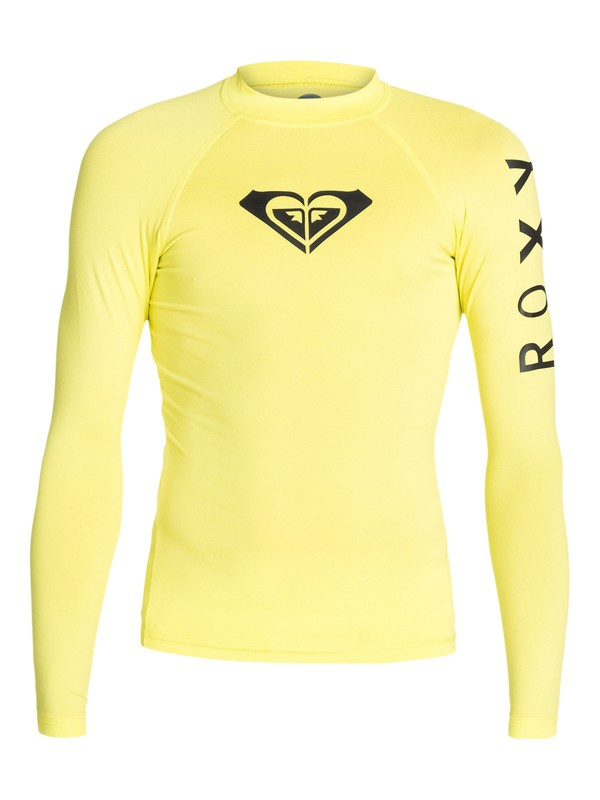 0 Whole Hearted - Long Sleeve Rashguard  ARGWR03007 Roxy