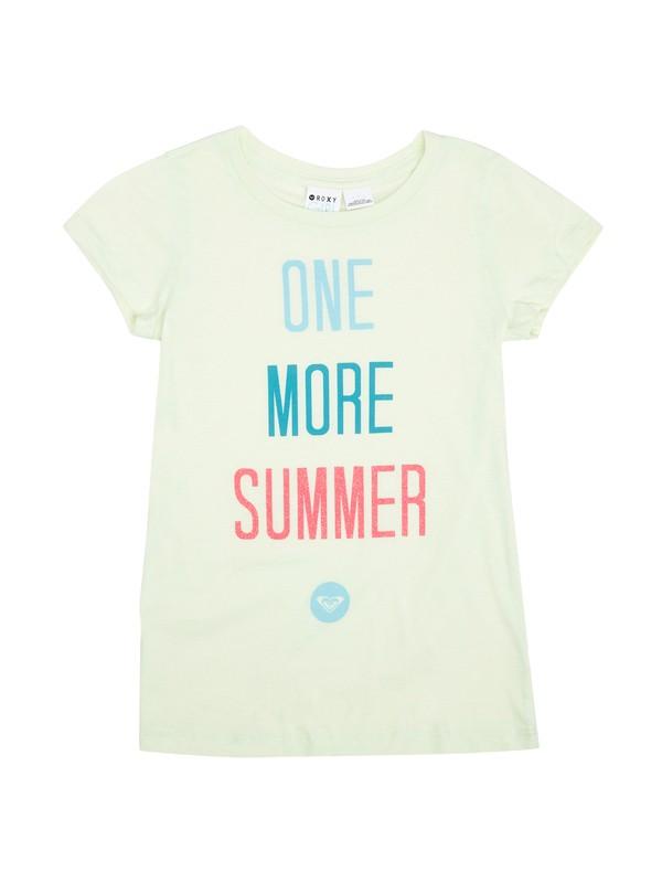0 Girls 7-14 One More Summer Tee  ARGZT00276 Roxy