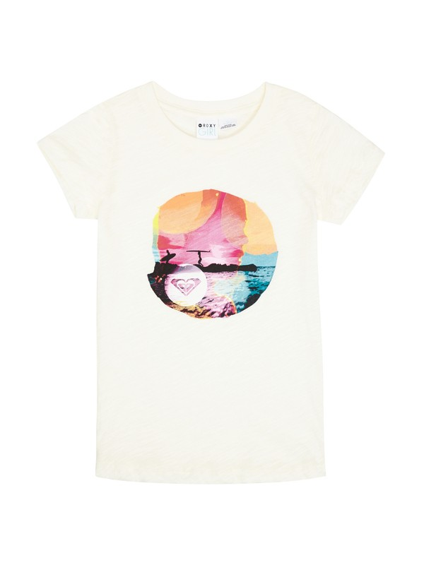 0 Girls 7-14 Good Things Tee  ARGZT00284 Roxy