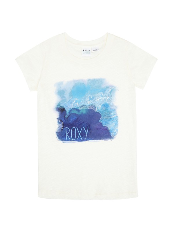 0 Girls 7-14 Ocean Floor Tee  ARGZT00286 Roxy