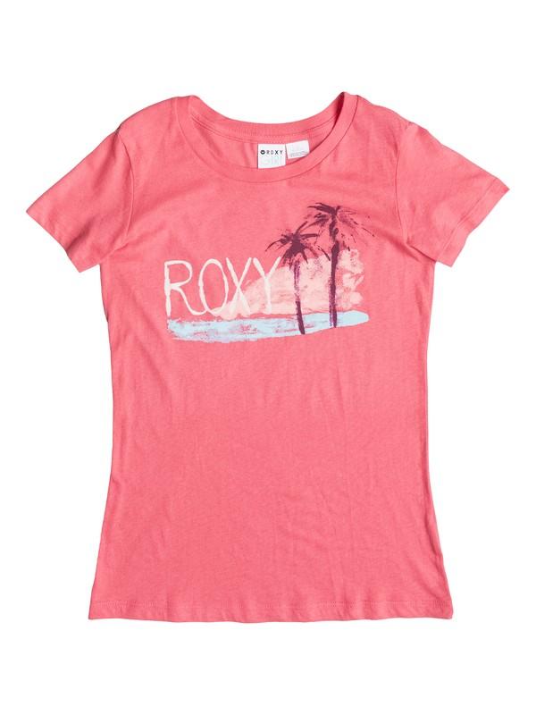0 Girls 7-14 Island Life Tee  ARGZT03004 Roxy