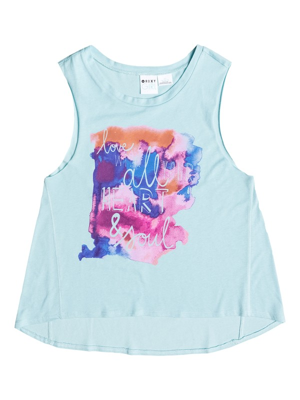 0 Girls 7-14 Heart & Soul Tank  ARGZT03023 Roxy