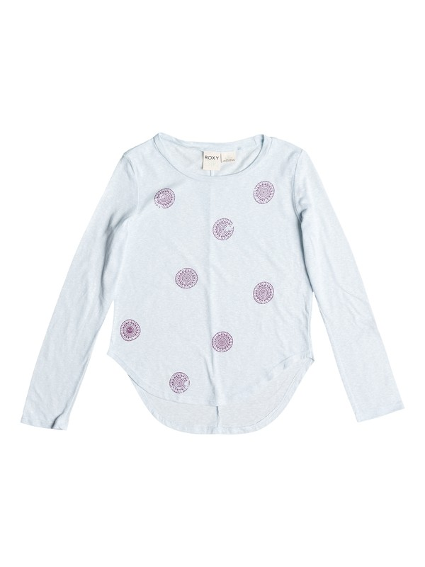 0 Girl's 7-14 Sun Medal Dot  Long SleeveTee  ARGZT03065 Roxy