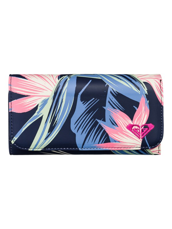 0 My Long Eyes - Printed Faux Leather Wallet  ARJAA03059 Roxy
