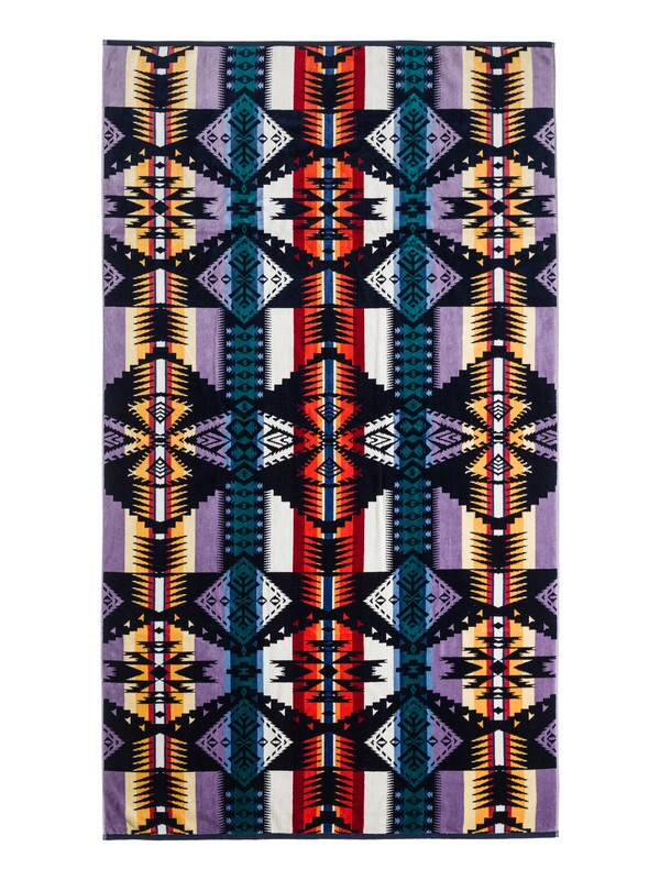 0 Seascape Beach Towel - Pendleton & Roxy Collaboration Beach Towel  ARJAA03080 Roxy