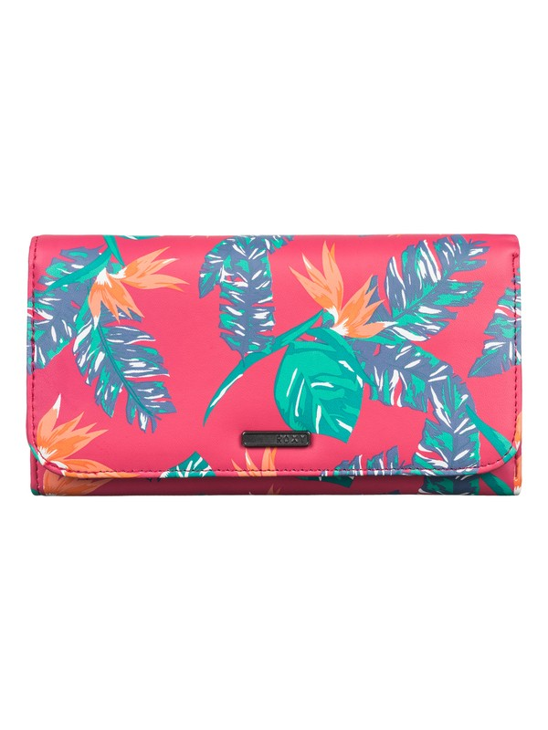 0 My Long Eyes - Printed Faux-Leather Wallet  ARJAA03103 Roxy