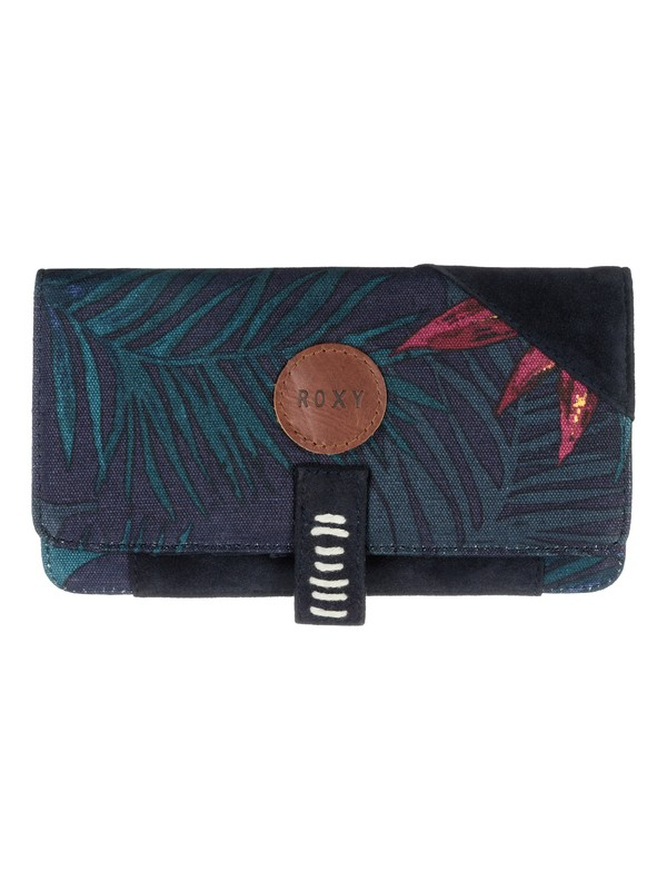 0 Beach Grounded - Vegan-Suede Wallet  ARJAA03128 Roxy