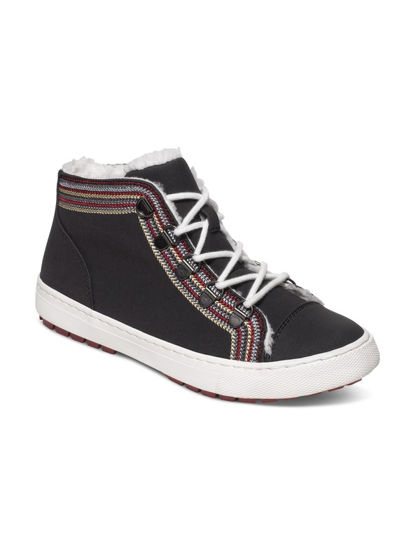 0 Mila Lace-Up Mid Top Shoes  ARJB400001 Roxy