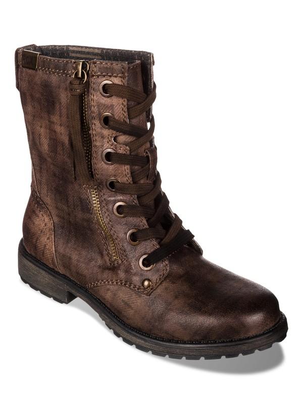 0 Providence Boots Brown ARJB700145 Roxy