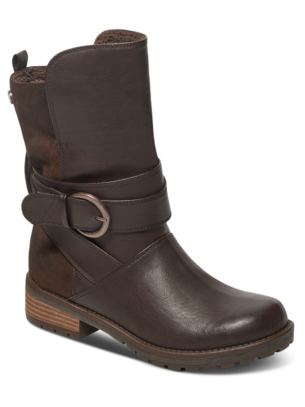 0 Bancroft Boots Brown ARJB700344 Roxy