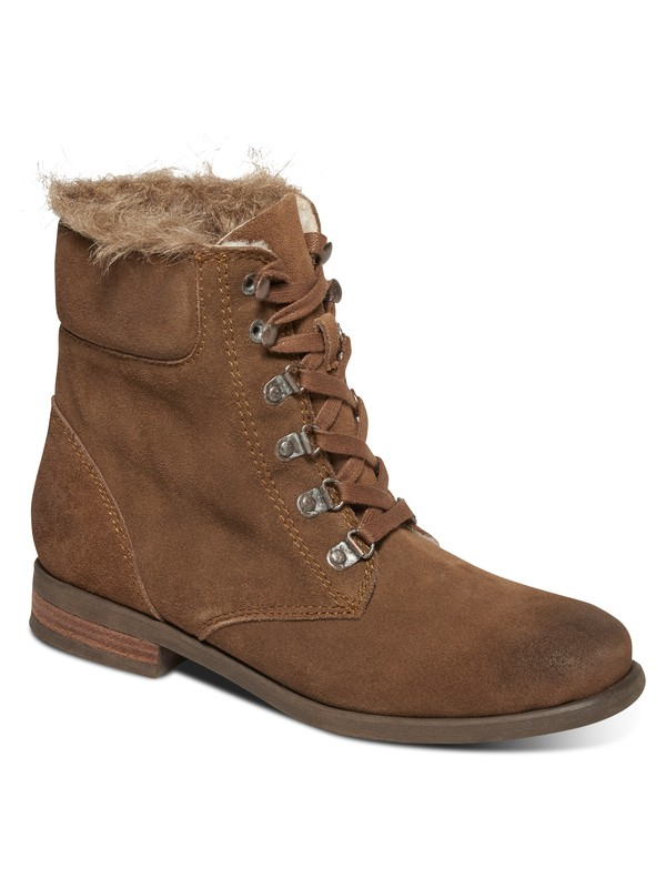 0 Bromley - Lace-Up Boots Beige ARJB700371 Roxy