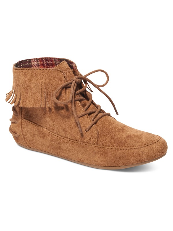 0 Kenna Lace-Up Suede Ankle Boots  ARJB700390 Roxy