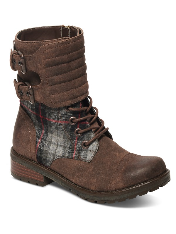 0 Emery Lace-Up Boots Brown ARJB700391 Roxy