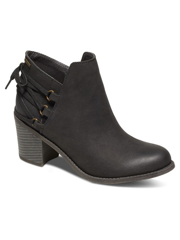 0 Dulce Heeled Ankle Boots Black ARJB700394 Roxy
