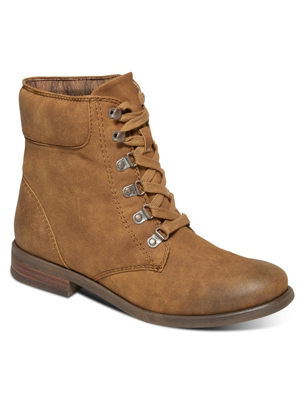 0 Fulton Lace-Up Boots Brown ARJB700406 Roxy