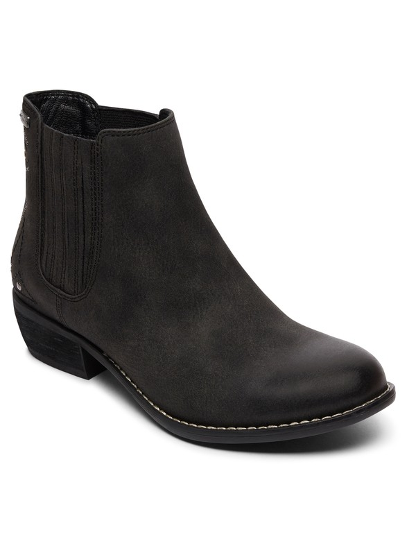 0 Paso Heeled Ankle Boot Black ARJB700530 Roxy