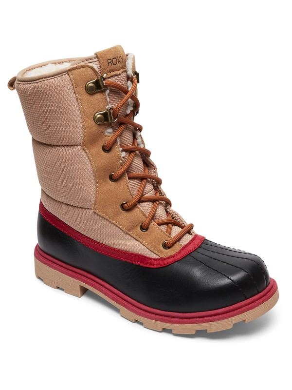 0 Canby - Waterproof Snow Boots Brown ARJB700547 Roxy