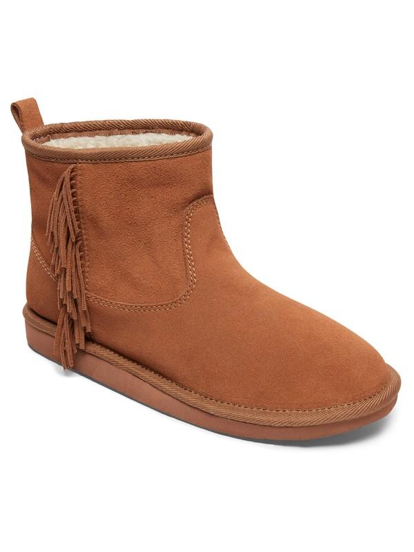 0 Joyce - Suede Boots Brown ARJB700548 Roxy
