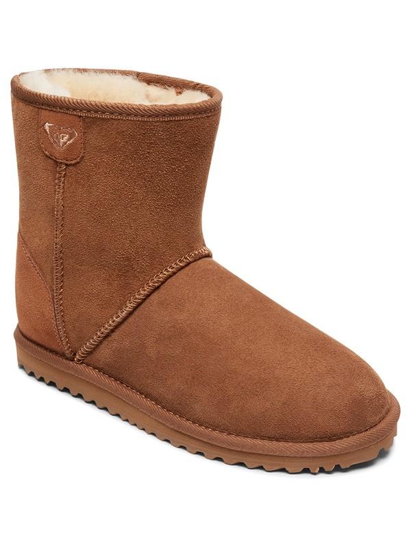 0 Renton - Suede Boots Brown ARJB700553 Roxy