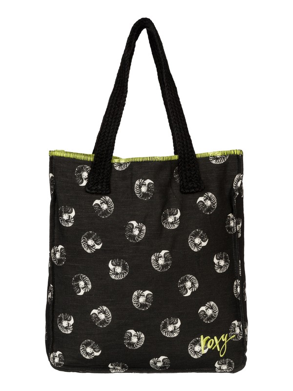 0 Rocksteady - Printed Linen Beach Tote Bag  ARJBA03013 Roxy